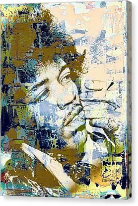 Jimi Soul Canvas Print