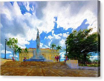 Jose Miguel Gomez Monument, Santa Clara, Cuba Canvas Print