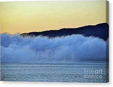 Ketchikan Alaska Fog Canvas Print