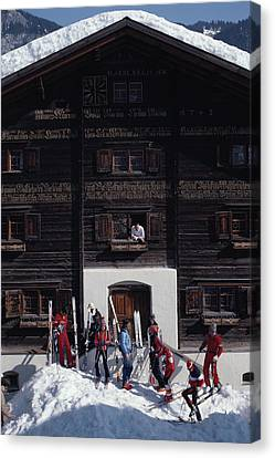 Klosters Florin House Canvas Print