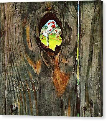 "/""Art Critic-Norman Rockwell/""  CANVAS or PRINT WALL ART"