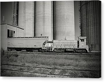 Canvas Print featuring the photograph L C Sw900 91 B W 55 A by Joseph C Hinson Photography