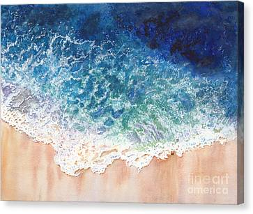 Lace On The Beach Canvas Print