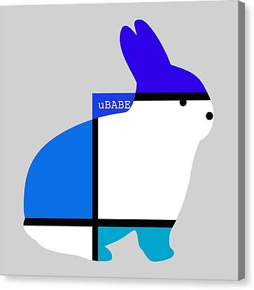 Lapin Agile Blue Canvas Print