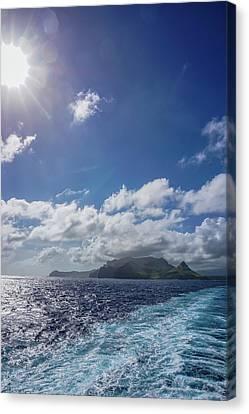 Leaving Paradise Canvas Print