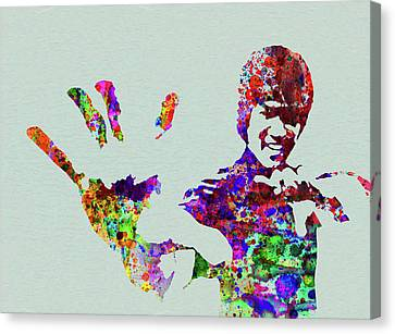 Art Prints BRUCE LEE DO NOT PRAY FOR PICTURE PRINT ON FRAMED CANVAS WALL ART HOME DECOR