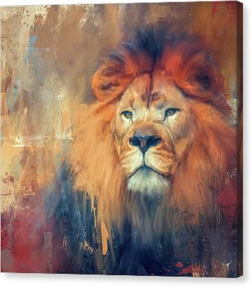 Lion Energy Canvas Print