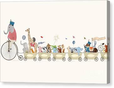 Littlest Playtime Canvas Print by Bri Buckley