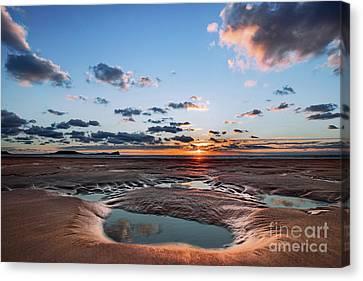 Llangennith Beach Canvas Print