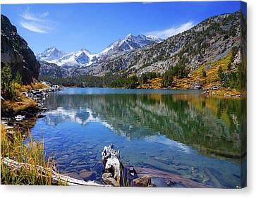 Long Lake Reflection Canvas Print