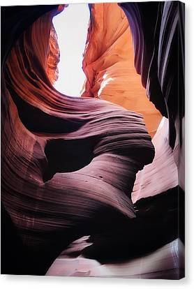 Lower Antelope Canyon - Lady In The Wind Canvas Print