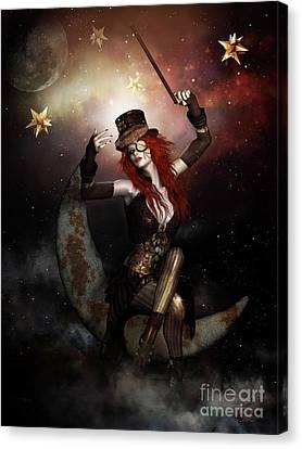 Maestro Steampunk Canvas Print