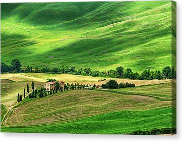 Magic Of Tuscany Canvas Print