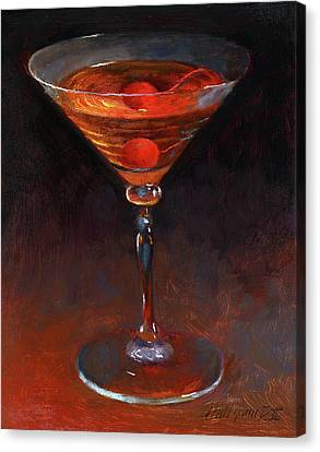 Manhattan Drink Canvas Prints Fine Art America