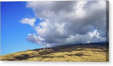 Maui Windmills Canvas Print