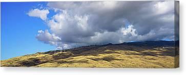 Maui Windmills Wide Canvas Print