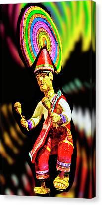 Mayan Dancer Canvas Print