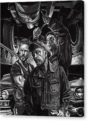Mechanics Canvas Print
