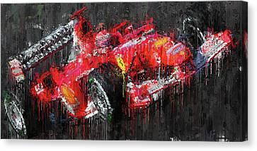 Michael Schumacher, Ferrari - 34 Canvas Print