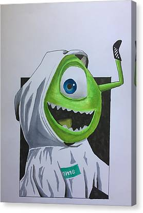 Mike Hypebeast Canvas Print