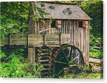 Mill At Cades Cove Canvas Print