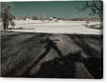 Mississippi Shadow Canvas Print