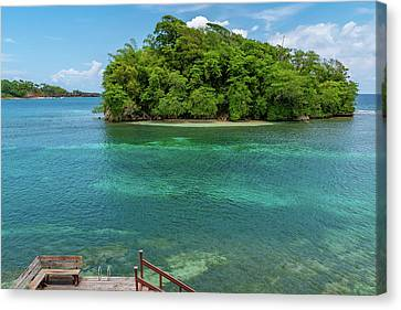 Monkey Island In Portland Jamaica Canvas Print