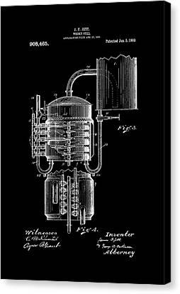 107 Vintage 1869 Moonshine Whisky Official Whiskey Still US Patent Art Print