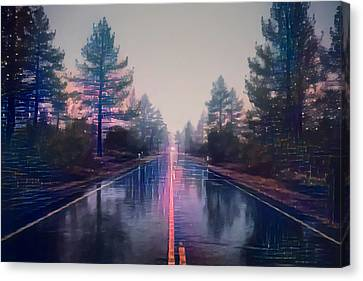 Morning In Montana Canvas Print