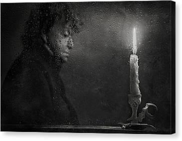 Black Candles Canvas Prints Fine Art America