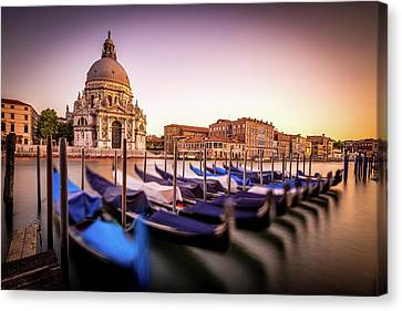 Venice In Motion Canvas Print