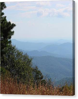 Nc Blue Ridge Parkway 9 Canvas Print