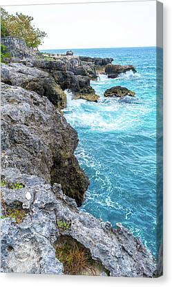 Negril Jamaica Cliffs Canvas Print