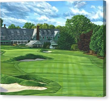 Oakmont Country Club Canvas Print