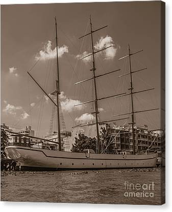 Old Ironside Canvas Print
