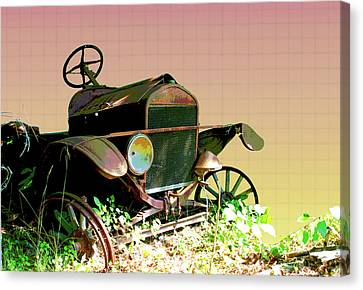 Old Rusty Vehicle - 3 Canvas Print