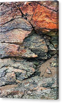 Oregon Rock Abstract 3 Canvas Print