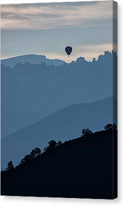 Over The Cimarrons Canvas Print