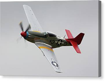 The North American Aviation P-51 Mustang framed split canvas prints