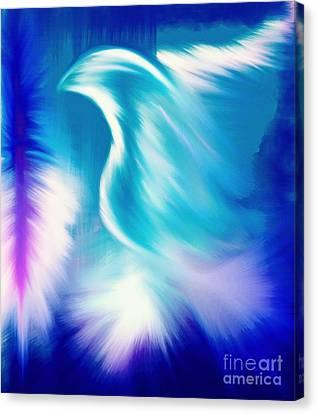 Paraclete Canvas Print