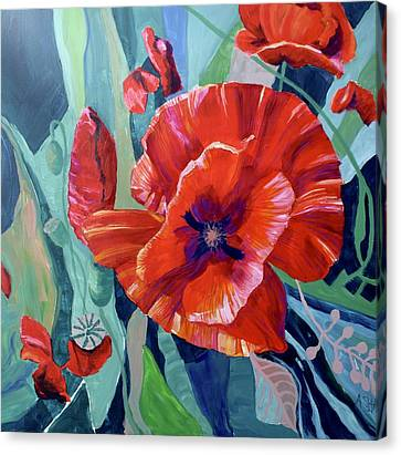 Poppie Jam Canvas Print