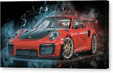 Porsche 911 Gt2 Canvas Print