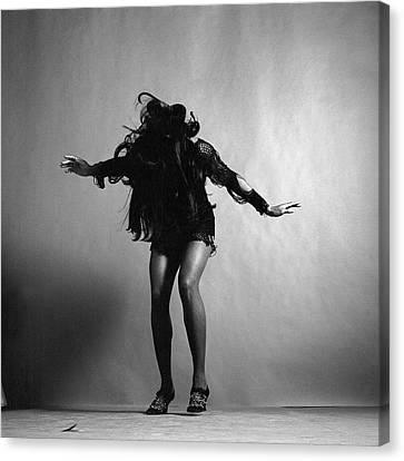 Portrait Of Tina Turner Canvas Print