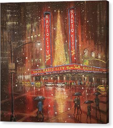Radio City Christmas Spectacular Canvas Prints Fine Art America