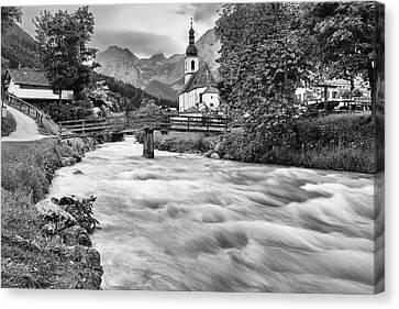 Ramsau, Bavaria Canvas Print
