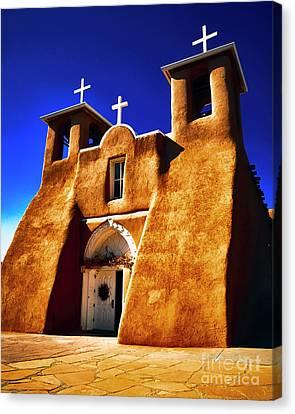 Ranchos Church  Xxxii Canvas Print