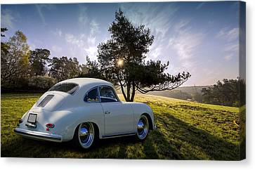 Retro Transportation Canvas Print