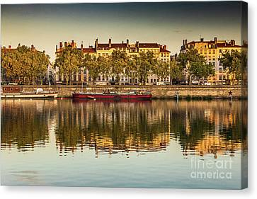 Rhone Morning Canvas Print