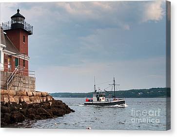 Mid Coast Maine Canvas Prints | Fine Art America