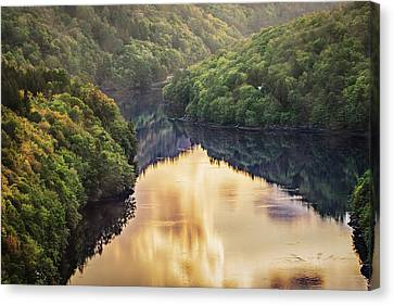 Romantic And Tranquil Valley  Canvas Print
